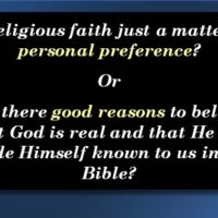 Quote on slide on faith and reason