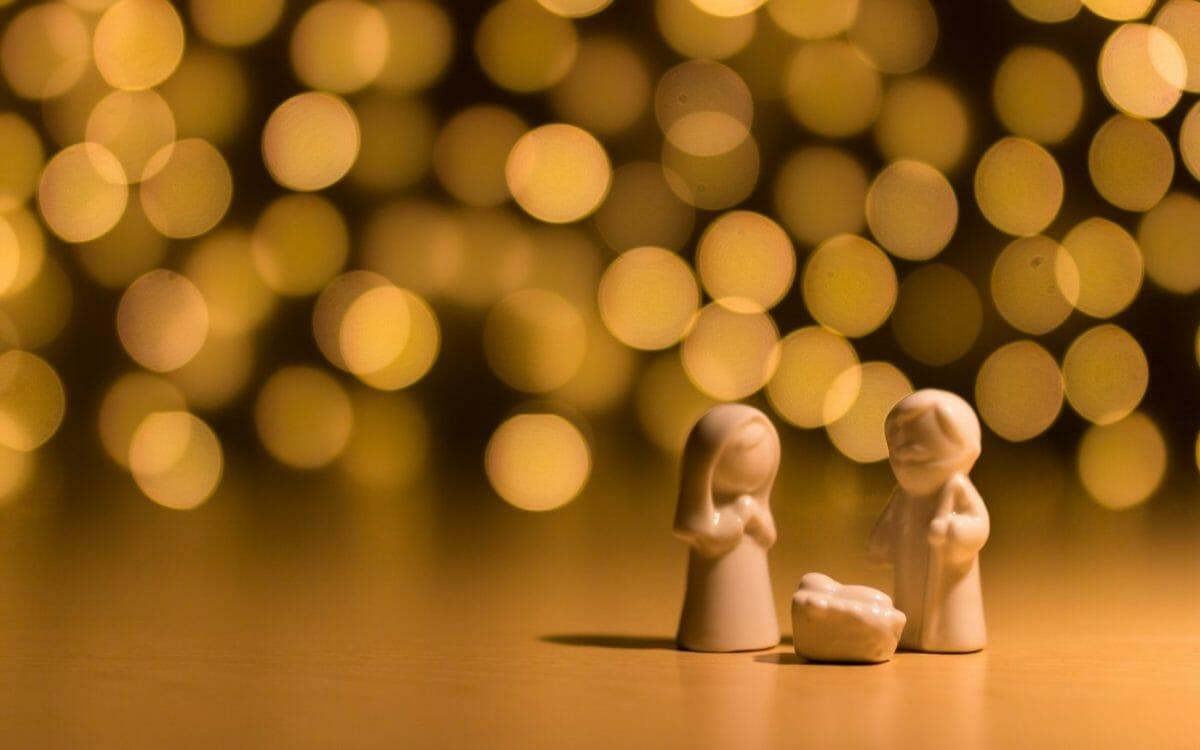 Image of a nativity scene
