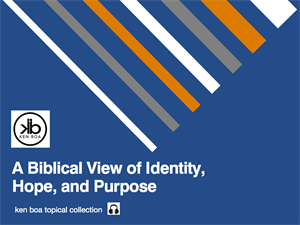 A Biblical View of Identity, Hope, and Purpose Audio Series