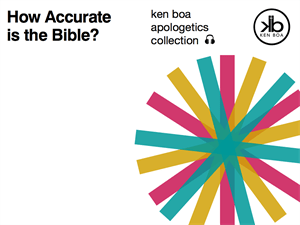 How Accurate is the Bible, Audio Series