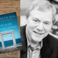 Photo of book cover and author Kenneth Boa