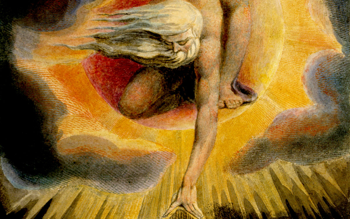 """Ancient of Days"" artwork by William Blake"