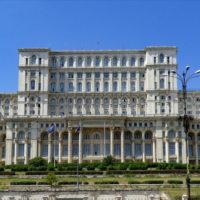 Romanian Parliament in Bucharest